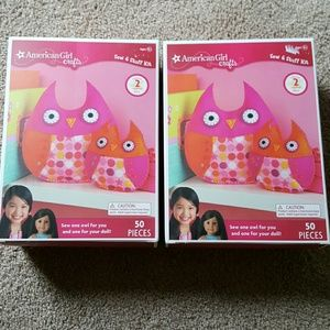 2 American Girl Owl crafts